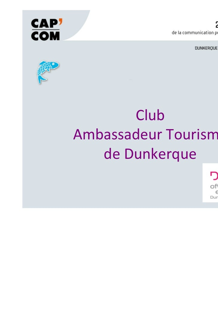 ClubAmbassadeur Tourisme   de Dunkerque