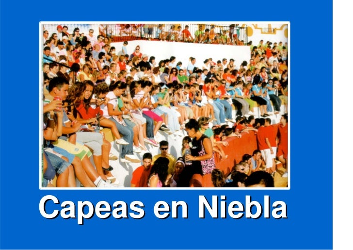 Capeas en Niebla