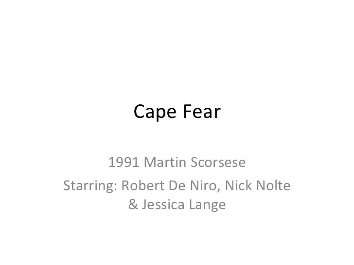 Cape fear 9 frame analys coope ris