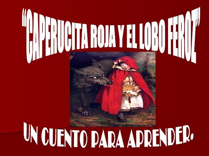 Caperucita roja y el lobo feroz imagenes -