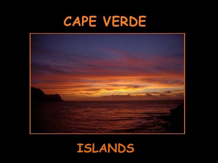 CAPE VERDE ISLANDS