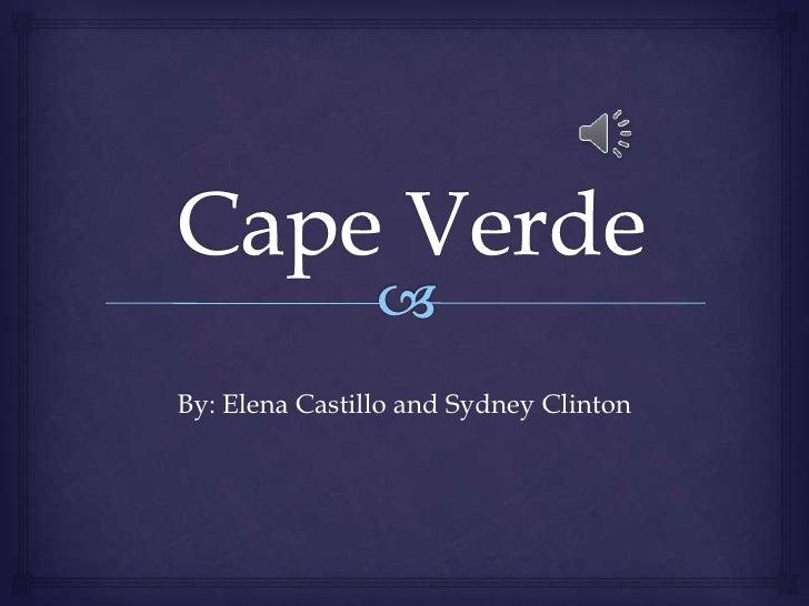 By: Elena Castillo and Sydney Clinton