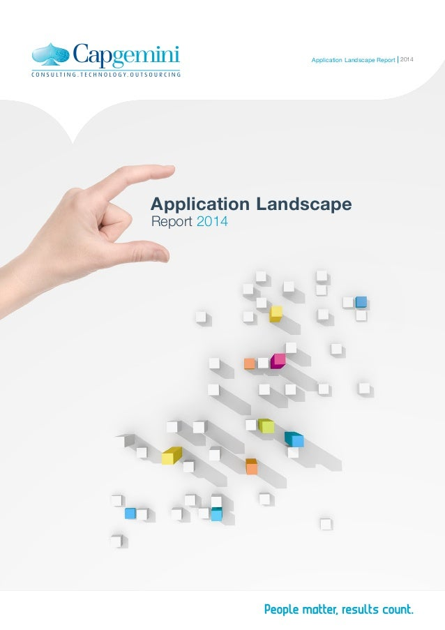 Application Landscape Report 2014 2014Application Landscape Report