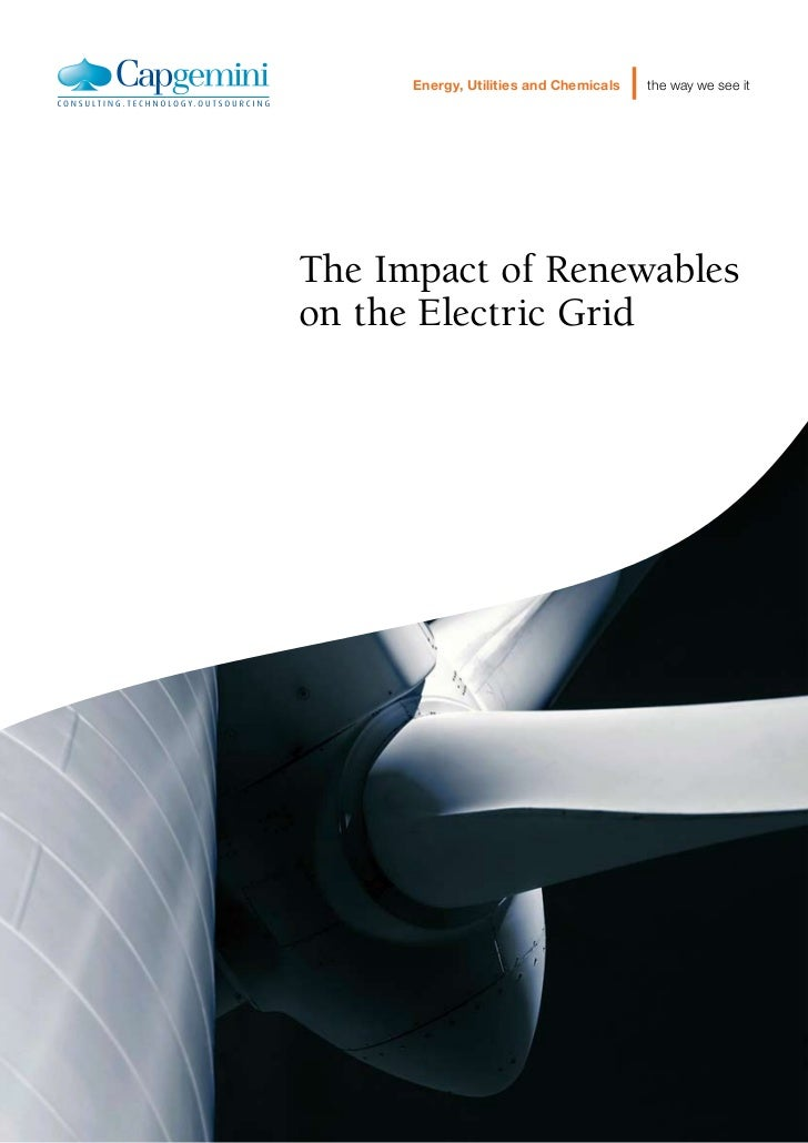 Smart Grid Operational Services The Impact Of Renewables On The Electric Grid POV