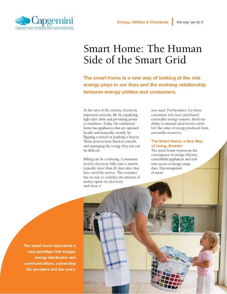 Energy, Utilities & Chemicals      the way we do it                                Smart Home: The Human                  ...