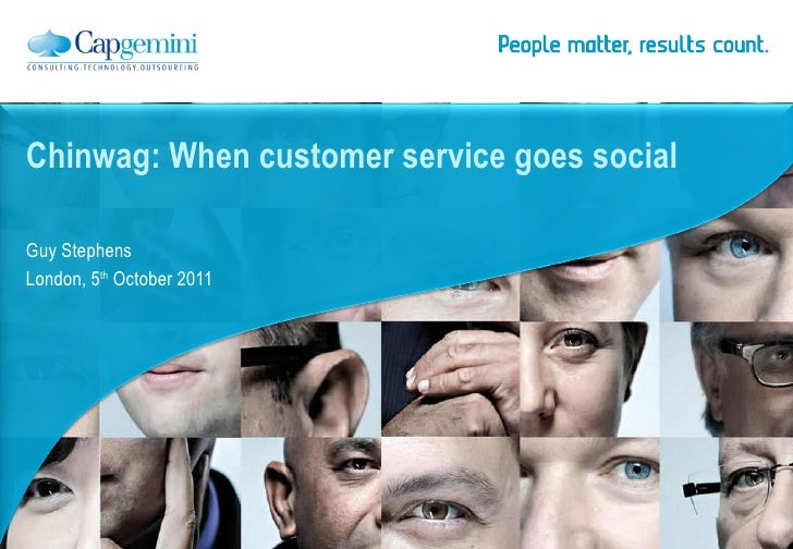 When customer service goes social