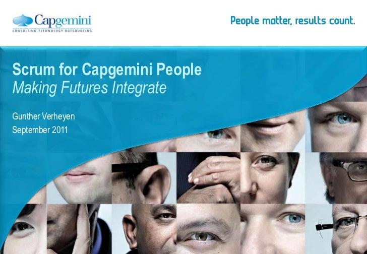 Capgemini the state of scrum Sep-2011