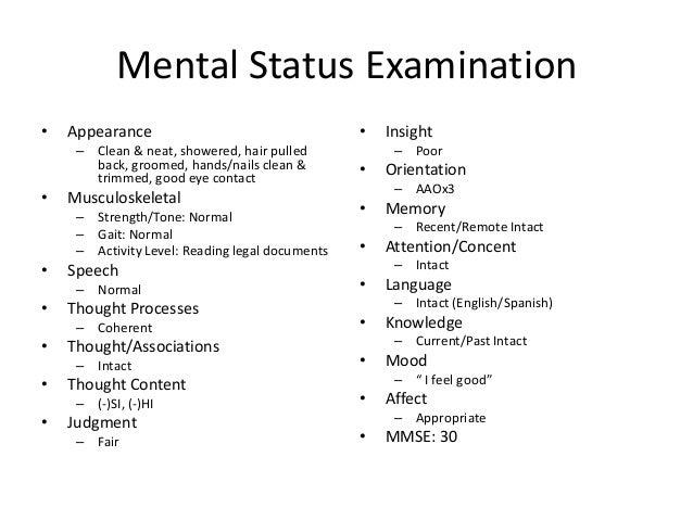 mini mental status exam spanish pdf