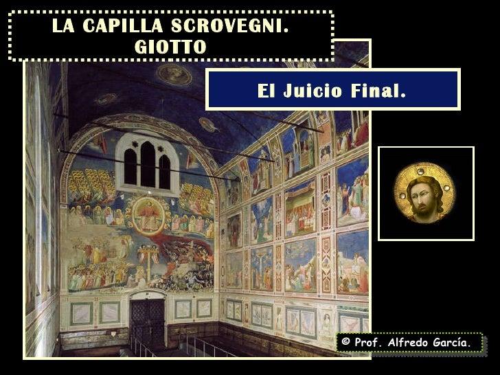 LA CAPILLA SCROVEGNI. GIOTTO © Prof. Alfredo García. El Juicio Final.
