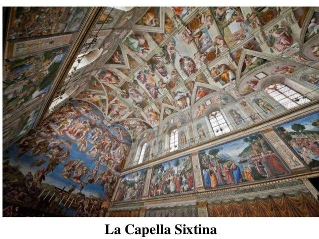 Capella Sixtina  La Capella Sixtina