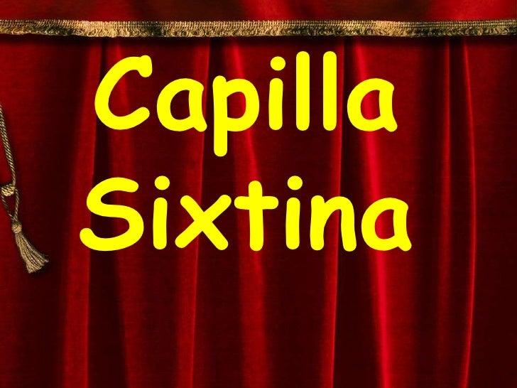 Capilla sixtina (1)