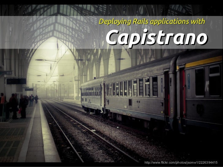 [Rock'n Rails] Deploying Rails Applications with Capistrano