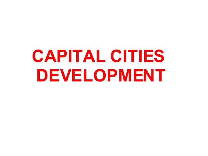 CAPITAL CITIES DEVELOPMENT