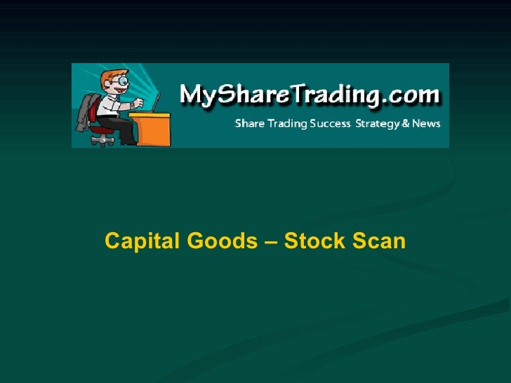 Capital Goods - Australian Stock Market Report