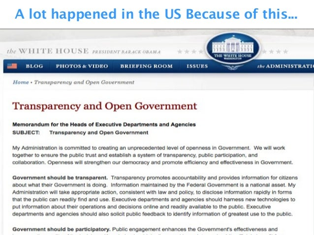 A lot happened in the US Because of this...