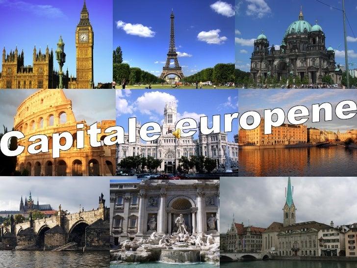 Capitale Europene