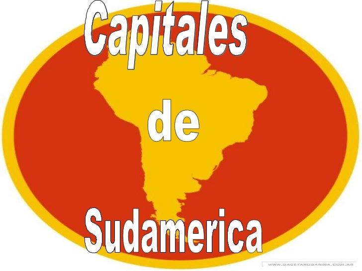 Capitales de Sudamerica