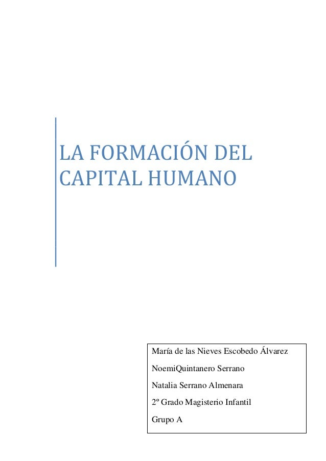 Capital humano (1)