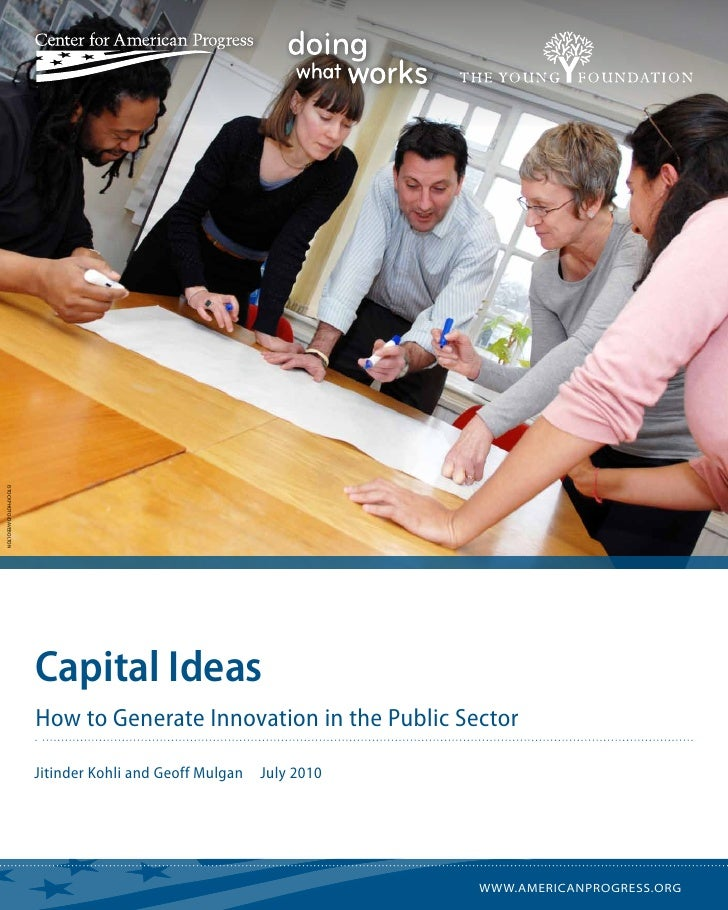 istockphoto/DaveBolton                         Capital Ideas                         How to Generate Innovation in the Pub...