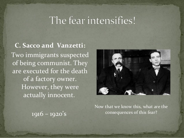 the threat and fear of communism in america Striking waterside workers (wharfies) were denounced as communists by the   raised fears of a threat to new zealand from covert communist infiltration and  subversion  influenced by soviet spy trials in britain and the united states and  us.