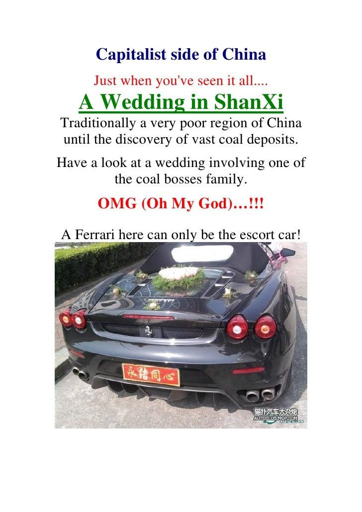 Capitalist Side Of China