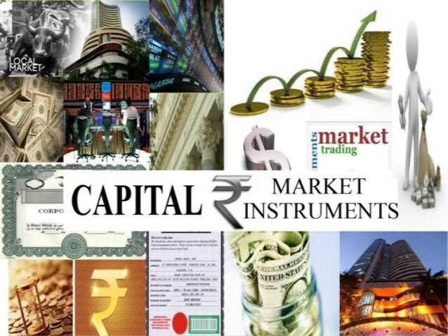 capital market instruments Capital markets refer to markets for long-term financial products and services where governments and companies can raise financingalthough these products may have similarities with money market instruments, the main difference lies in their maturityon a capital market, funding is provided for a period of one or more years while money markets.
