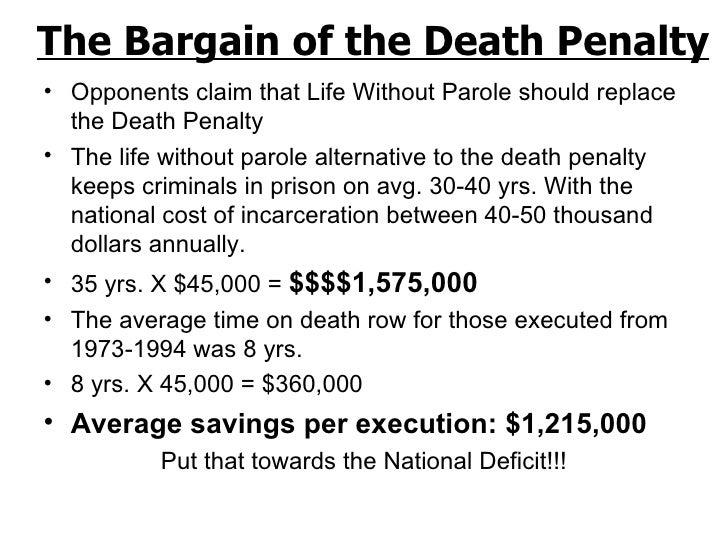 Life Imprisonment Vs Death Penalty Essay Intro - image 10