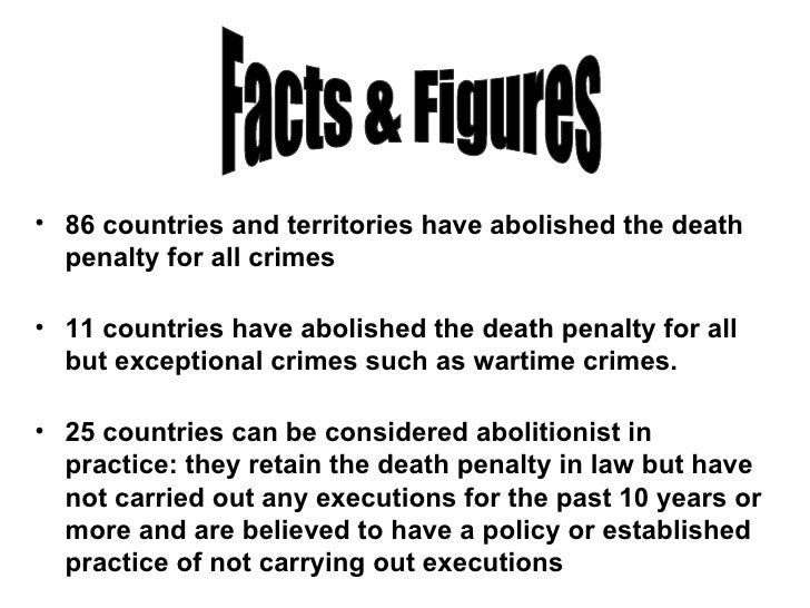 should canada reinstate the death penalty essay Should canada bring back the death penalty should canada reconsider the death penalty that the death penalty is not going to be reinstated into.