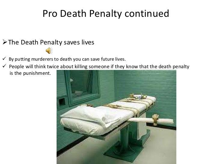 Death Penalty Pros Essay