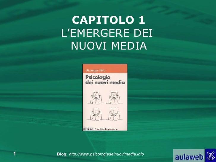 Capitolo 1 - L'emergere dei nuovi media