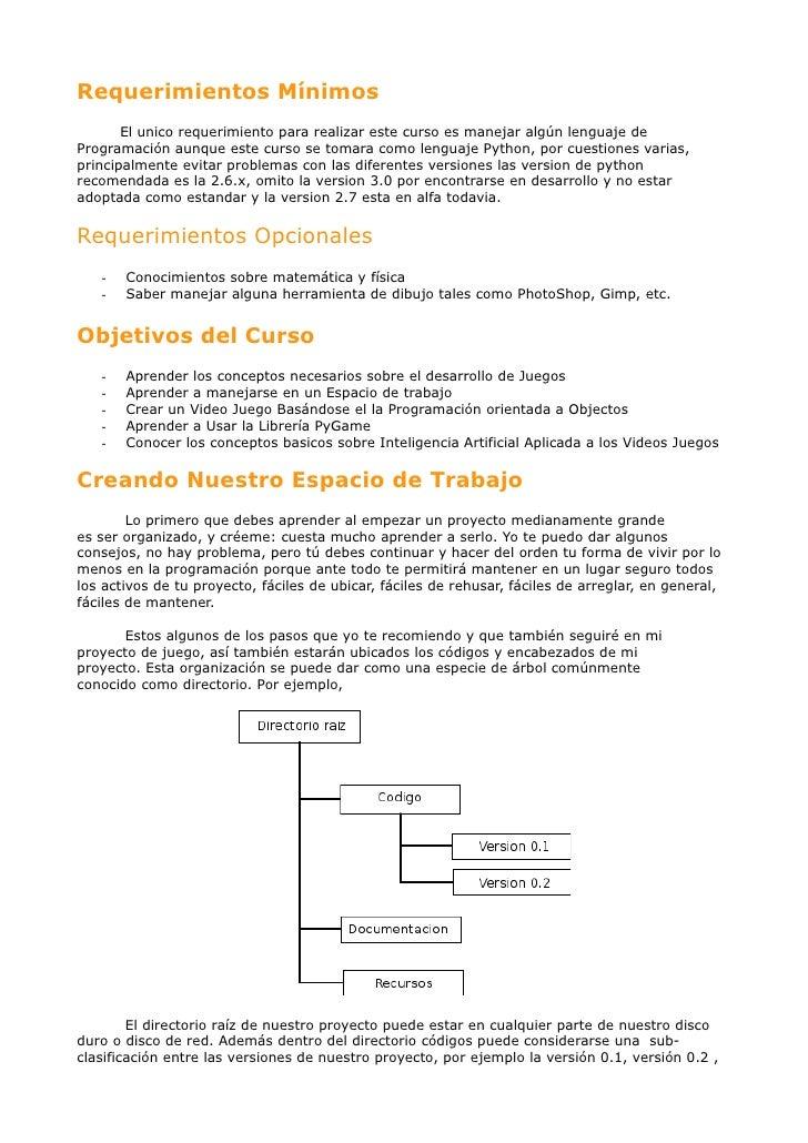 Requerimientos Mínimos       El unico requerimiento para realizar este curso es manejar algún lenguaje deProgramación aunq...