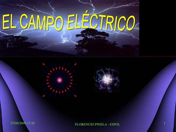 Campo Electrico: Física C-ESPOL