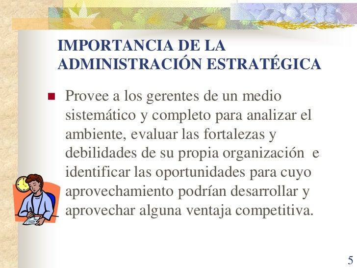 Capitulo 2 administracion estrategica for Importancia de la oficina
