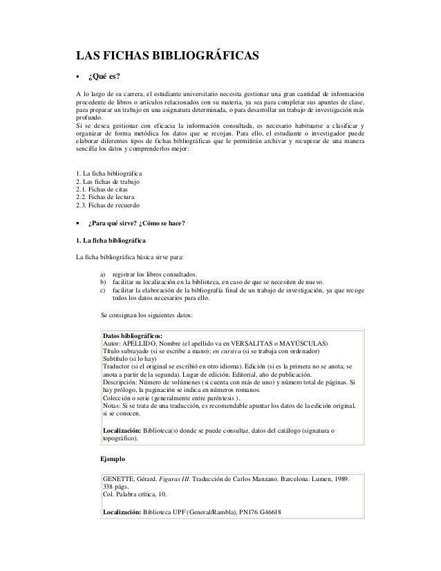 Capitulo 2 Fichas Bibliograficas