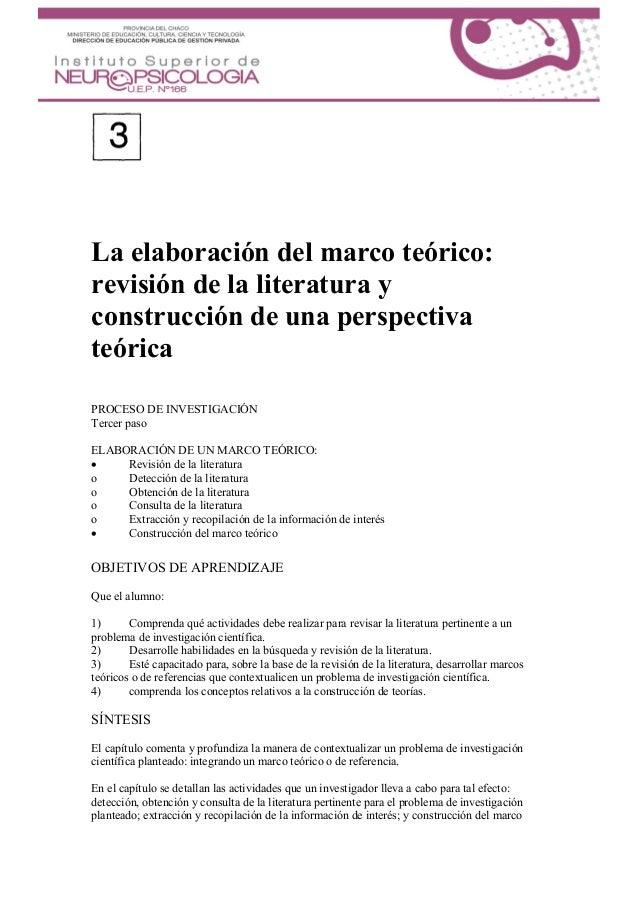 Sampieri Capitulo 3