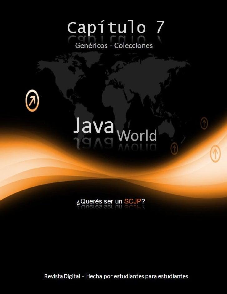 JavaWorld - SCJP - Capitulo 7
