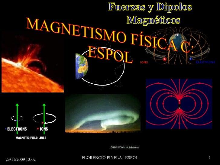 Fuerza Magnética Física C: ESPOL