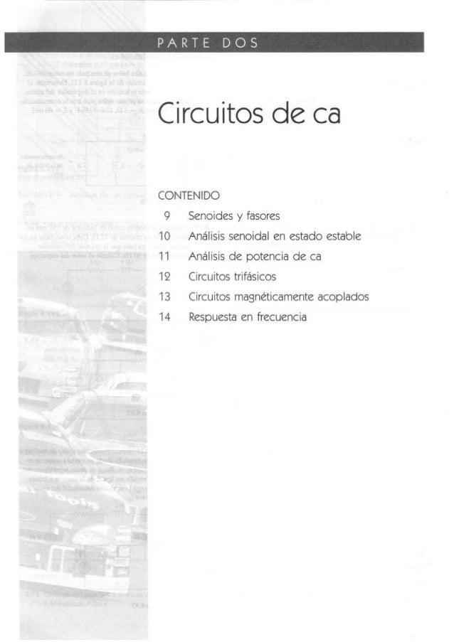 Capitulo 9 sadiku: Circuitos de ca. senoides y fasores
