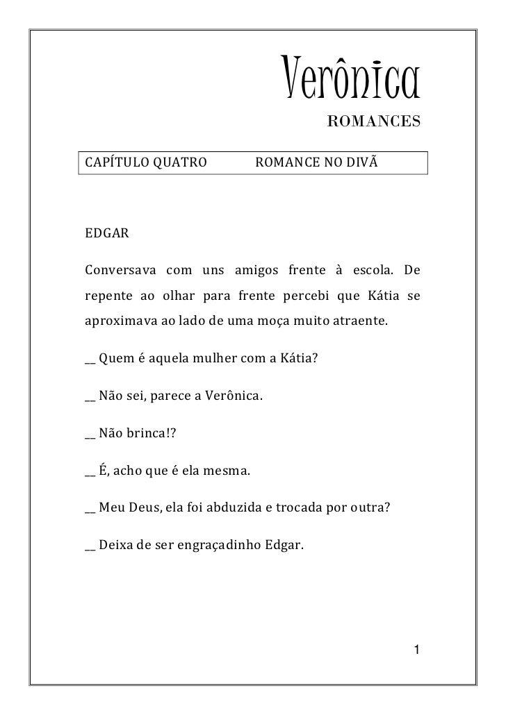 CAPÍTULO QUATRO - ROMANCE NO DIVÃ