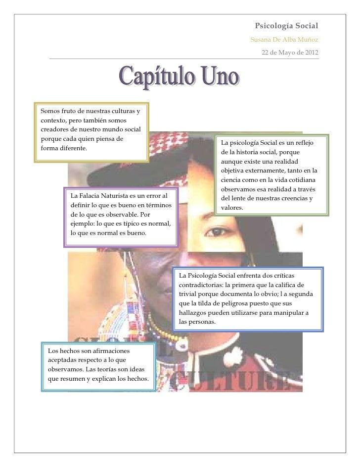 Psicología Social                                                                         Susana De Alba Muñoz            ...