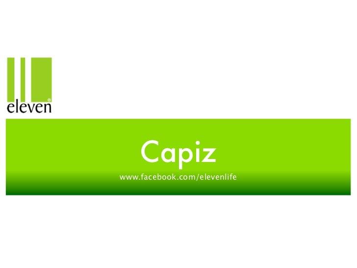 Capizwww.facebook.com/elevenlife