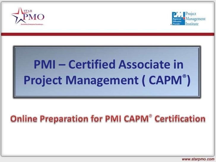 Online Capm Training