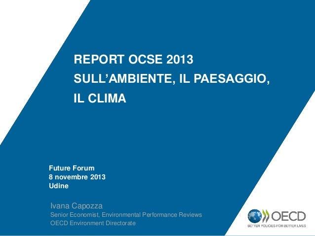 Future Forum 2013 - Ivana Capozza