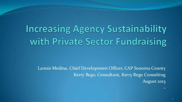CAP Annual Convention Presentation| Increasing Sustainability with Private Sector Funding | Crowdfunding: How to Harness Social Media Tools for Your Agency Fundraising