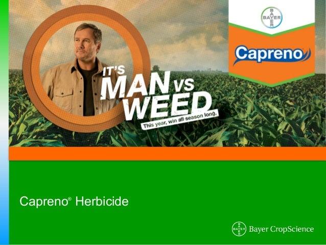 Capreno Corn Herbicide - 2012 Product Guide