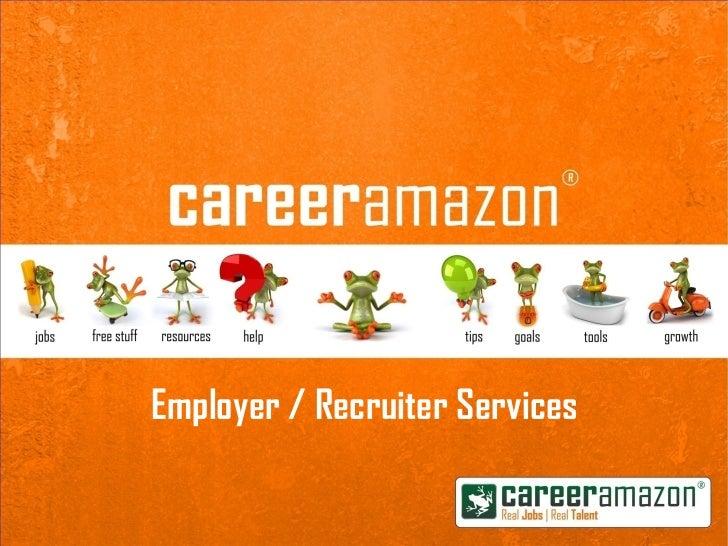 Employer / Recruiter Services