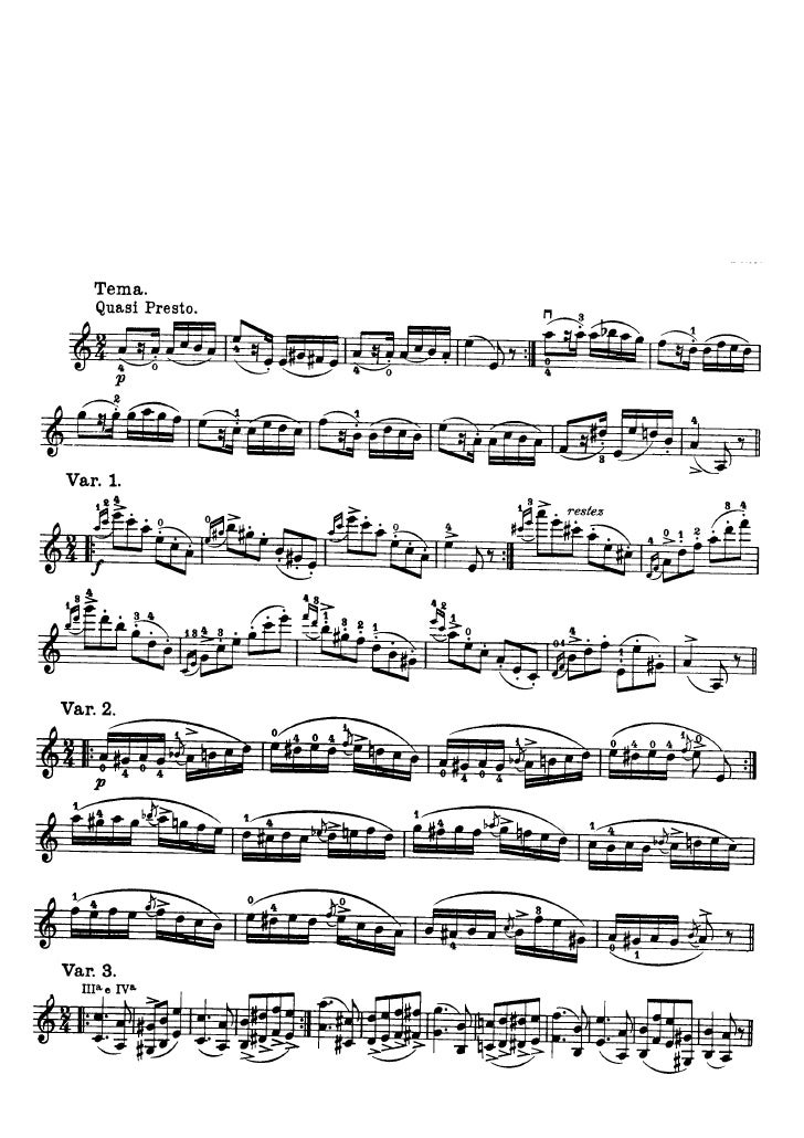 Capricho 24 de Paganini