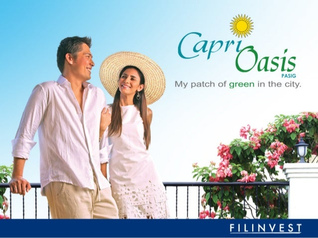 CAPRI OASIS in Pasig By Filinvest