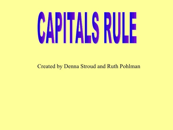 Caps Rule
