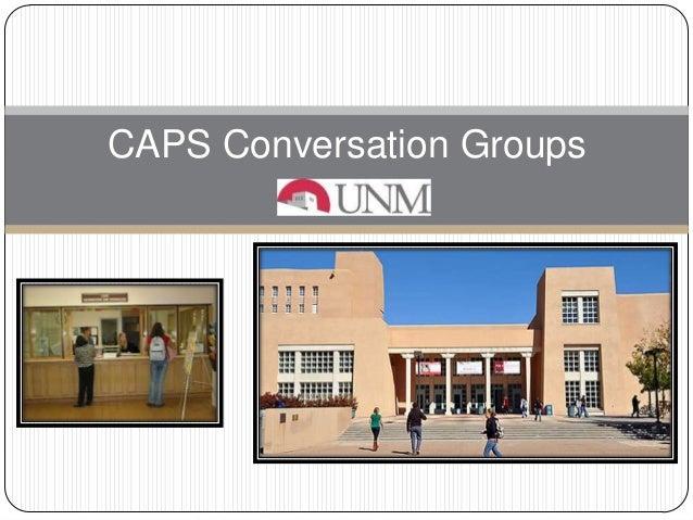 CAPS Conversation Groups